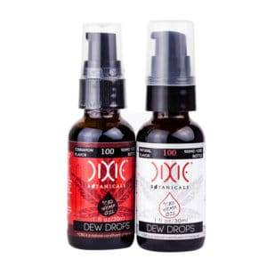 Dixie Botanicals Dew Drops 100mg Group