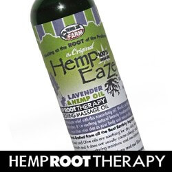 hemp massage oil