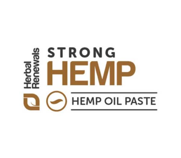 Herbal Renewals Gold Label Strong CBD Hemp Oil Paste