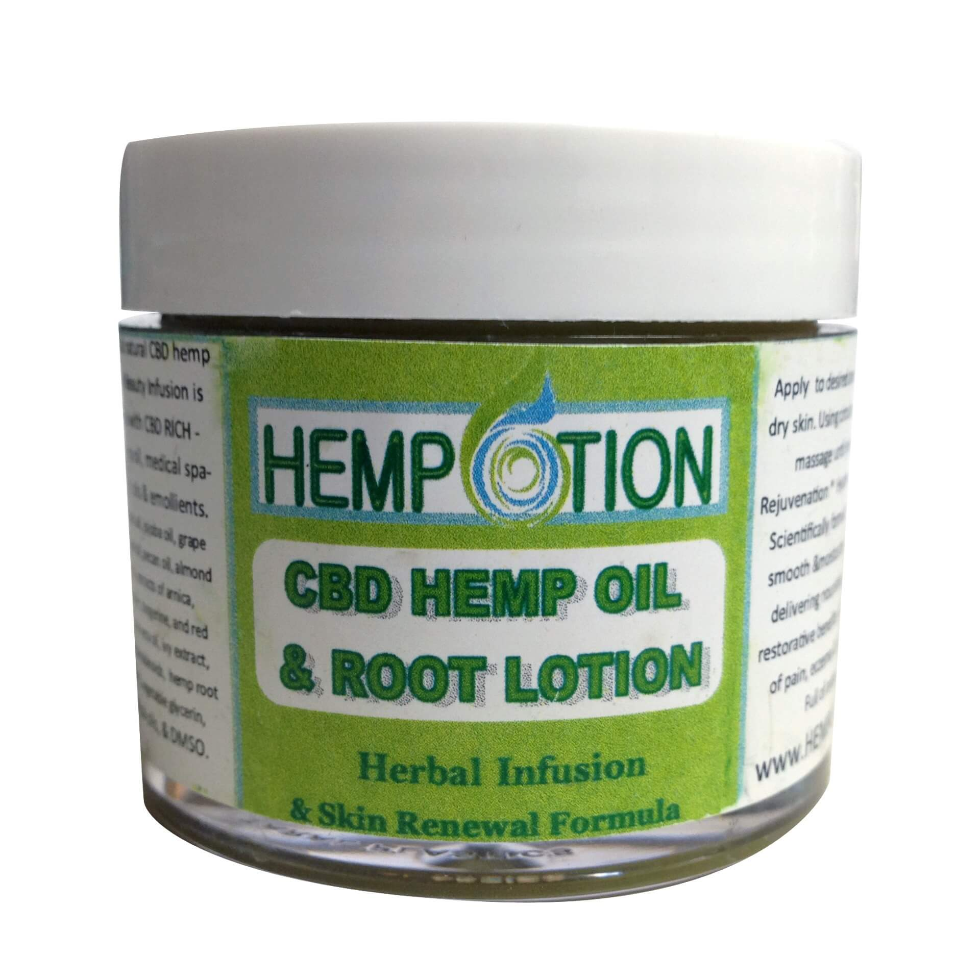 Hempotion CBD Hemp Lotion