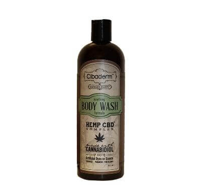 Cibaderm Hemp CBD Complex Body Wash