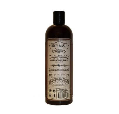 Cibaderm Hemp CBD Complex Body Wash Back