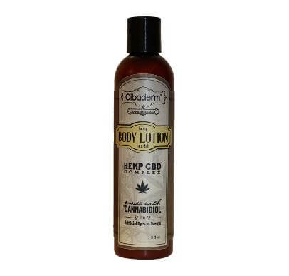 Cibaderm Hemp CBD Complex Body Lotion