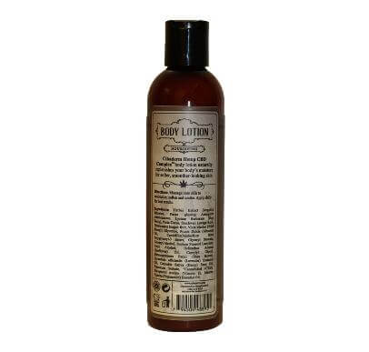Cibaderm Hemp CBD Complex Body Lotion Back