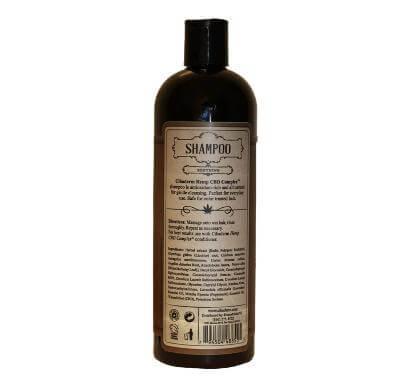 Cibaderm Hemp CBD Complex Hemp Shampoo Back