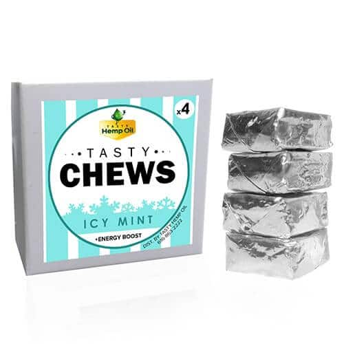 Tasty Chews Icy Mint 4 Pack