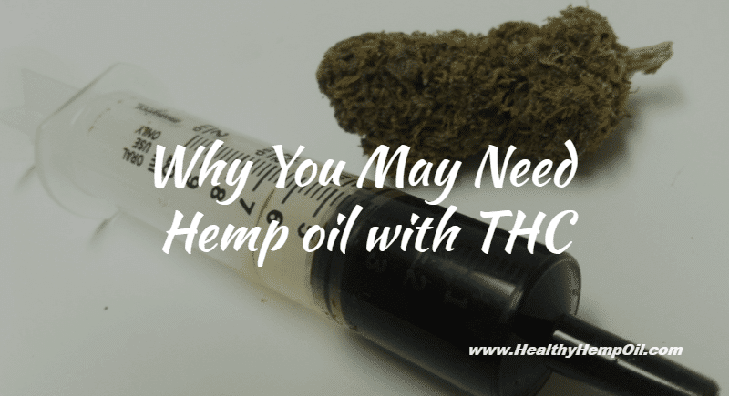 Hemp Oil with THC