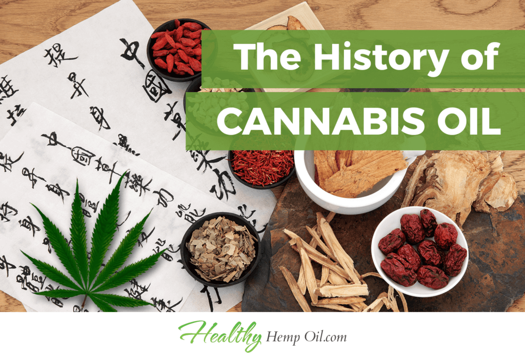 The History of Cannabis Oil