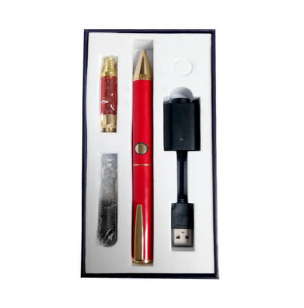 Natural Happiness Red Vaporizer Pen Kit