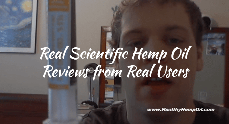 Real Scientific Hemp Oil Reviews