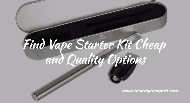 Vape Starter Kit Cheap