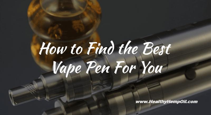 Best Vape Pen
