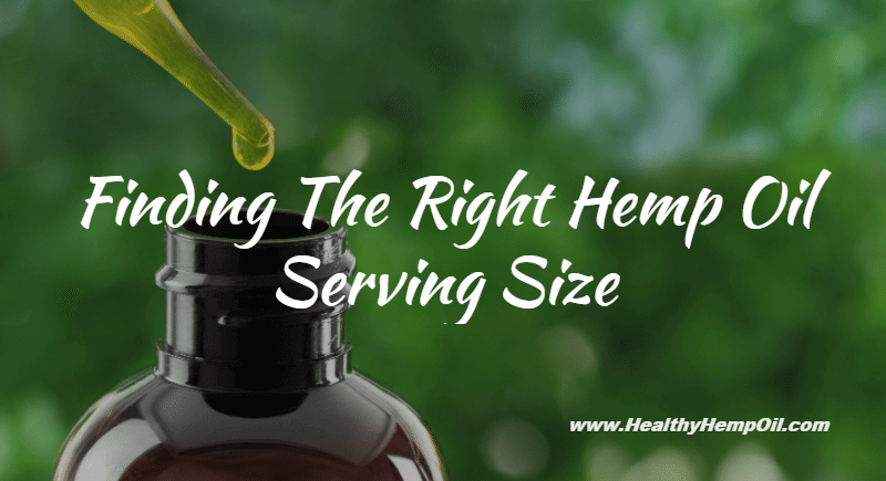 Hemp Oil Dosage