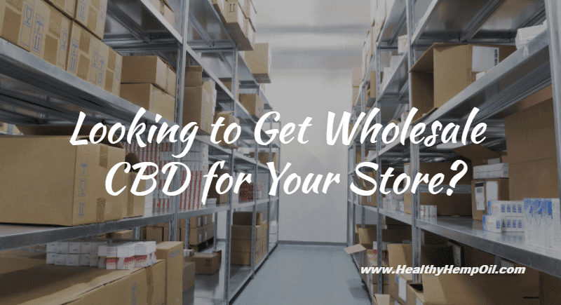 Wholesale CBD