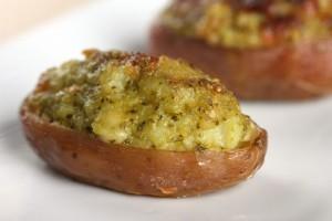 Cannabis Edibles - baked cannabis potato