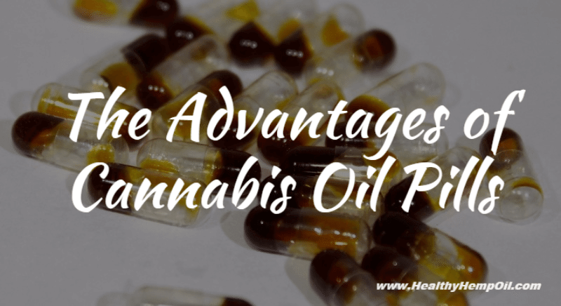 Cannabis Oil Pills - Featured Image