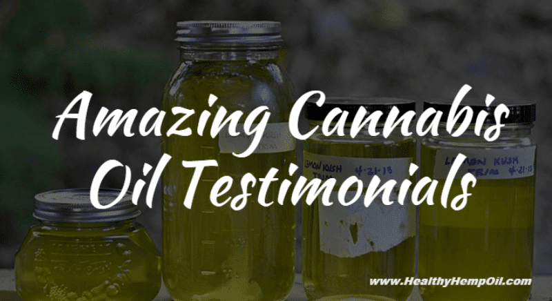 Cannabis Oil Testimonials - Featured Image