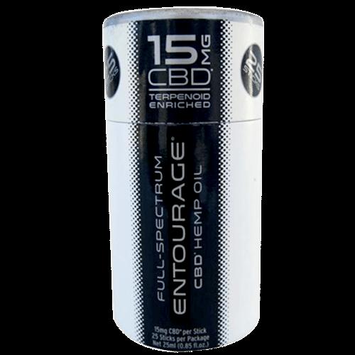 Entourage CBD Liquid E-Stick Back 15mg