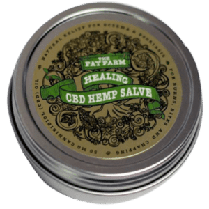 Fayfarm Hemp Seed Lotion Front 1.5oz