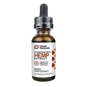 Herbal Renewals CBD for Pets Blend 200mg CBD