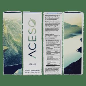 Aceso Calming Spray 1oz Sides