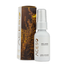 Aceso Energy Spray 1oz Front