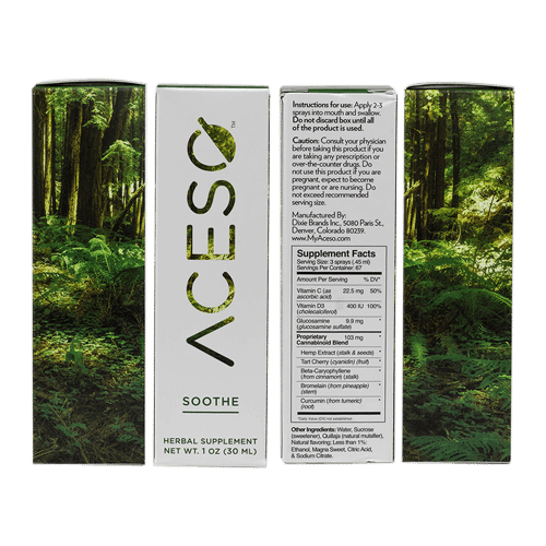 Aceso Soothing Spray 1oz Sides