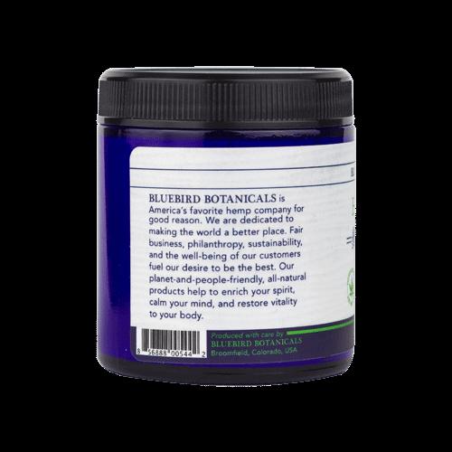 Bluebird Botanicals Hemp Sport CBD Skin Cream 4oz Side