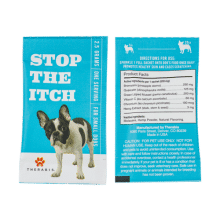 Therabis Supplement for Dogs With Itchy Skin - Small