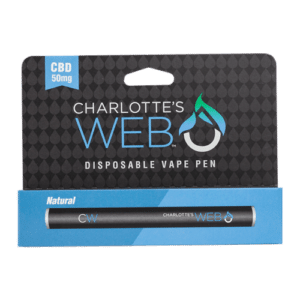 Charlotte's Web Disposable Vape Pen Natural 50mg CBD