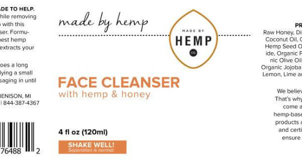hemp seed oil for face