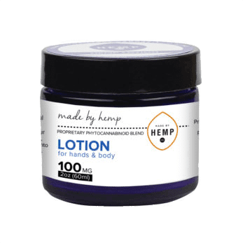 Made by Hemp Topical Lotion for Hands & Body 100mg CBD