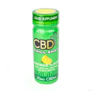 cbd drink, chill shot