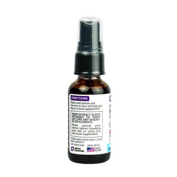 Pure Cbd Oil 1 Oz Vanilla 2