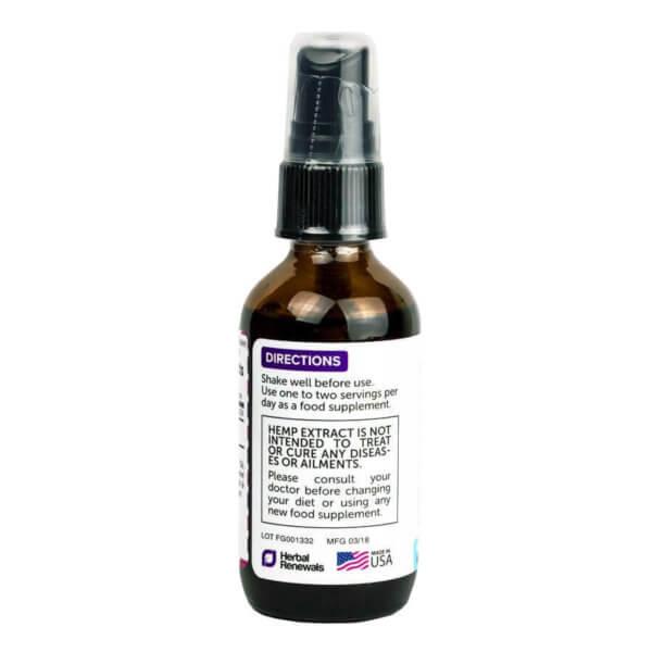 Pure Cbd Oil 2 Oz Peppermint 2