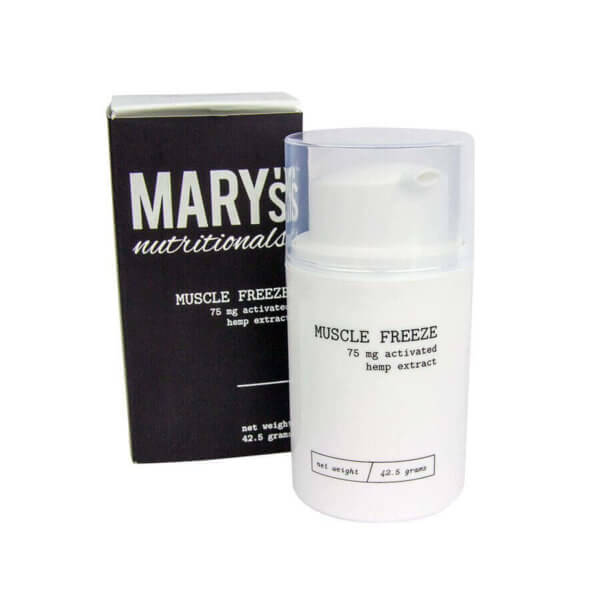 Marys Nutritionals Mini Muscle Freeze CBD Lotion 75mg
