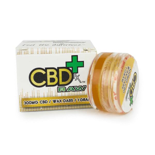 dab wax raw cbd