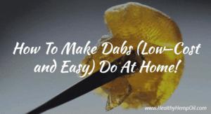 How to Make Dabs