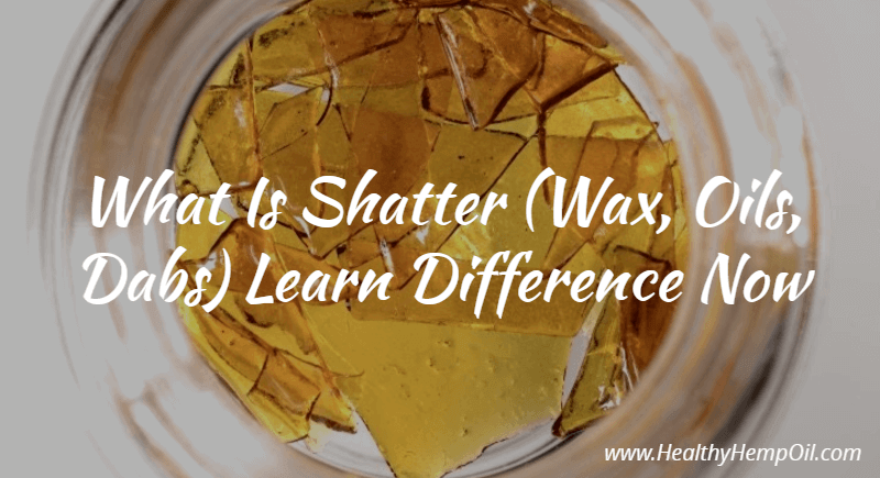 what is shatter wax oils dabs learn difference now