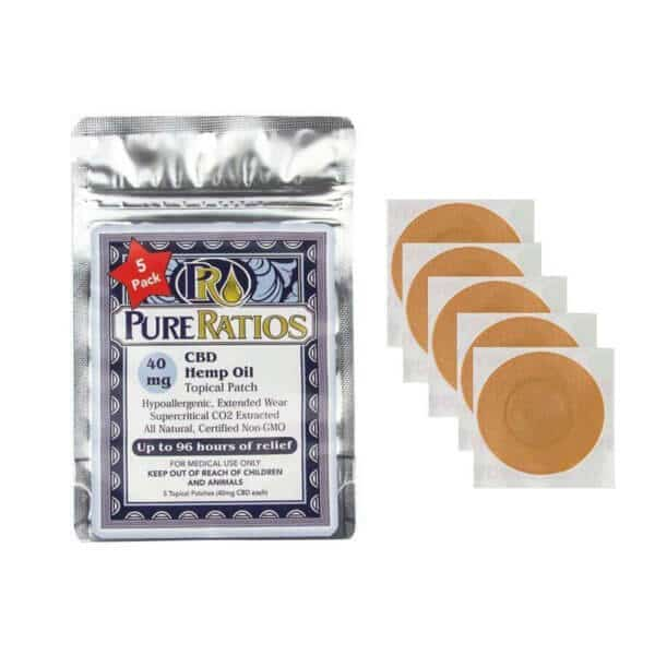 Pure Ratios CBD Patch 5-Pack