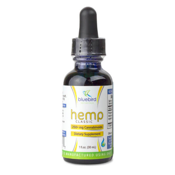 Bluebird Botanicals Hemp Classic 250mg 1oz