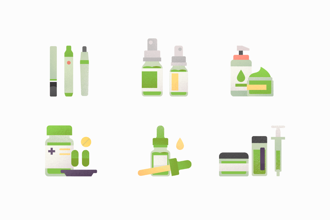 CBD product types