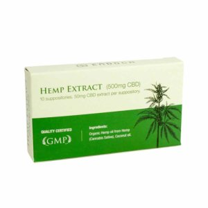 Hemp CBD Suppository