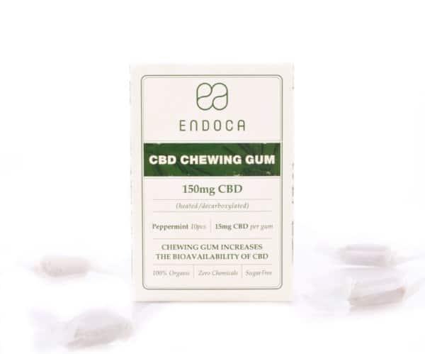 CBD chewing gum