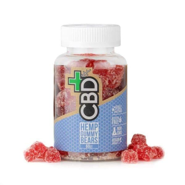 CBDfx: CBD Gummies -- 60ct (300mg CBD)