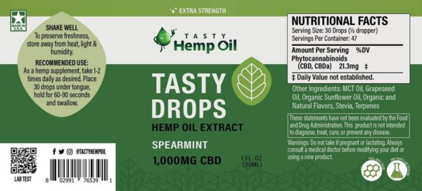 Label-Tasty-Drops-1oz-1000mg-Spearmint