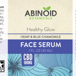 Abinoid Botanicals Face Serum 1oz 100mg